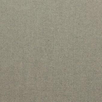 コットン×無地(キナリ&コゲ茶)×シャンブレーギャバジン_全5色