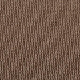 コットン×無地(コゲ茶&ベージュ)×シャンブレーギャバジン_全5色