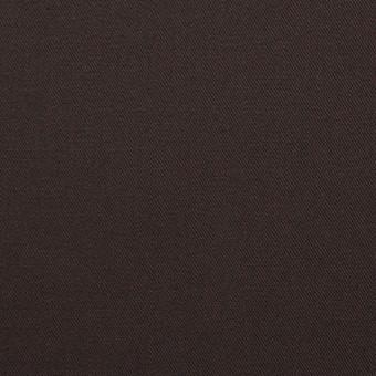 コットン×無地(ブラウン×コゲ茶)×シャンブレーギャバジン_全5色