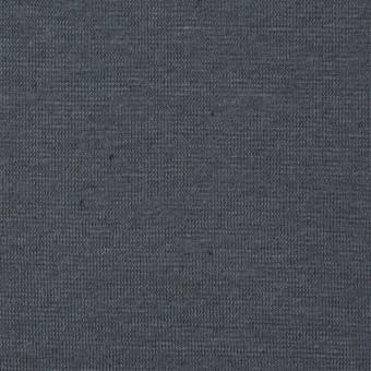 コットン&リネン×無地(スチールグレー)×天竺ニット_全4色