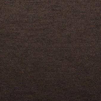 コットン&モダール×無地(カーキブラウン)×天竺ニット_全5色