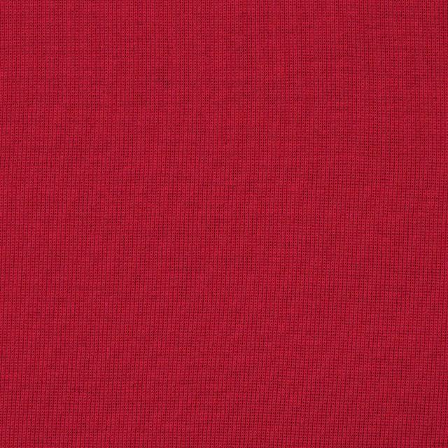 コットン×無地(レッド)×フライスニット イメージ1