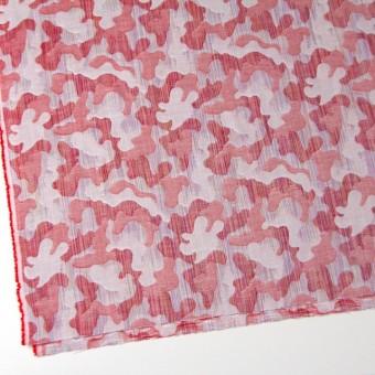 二重織ジャガードのストールキット(レッド) サムネイル4