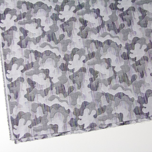 二重織ジャガードのストールキット(グレー) イメージ4