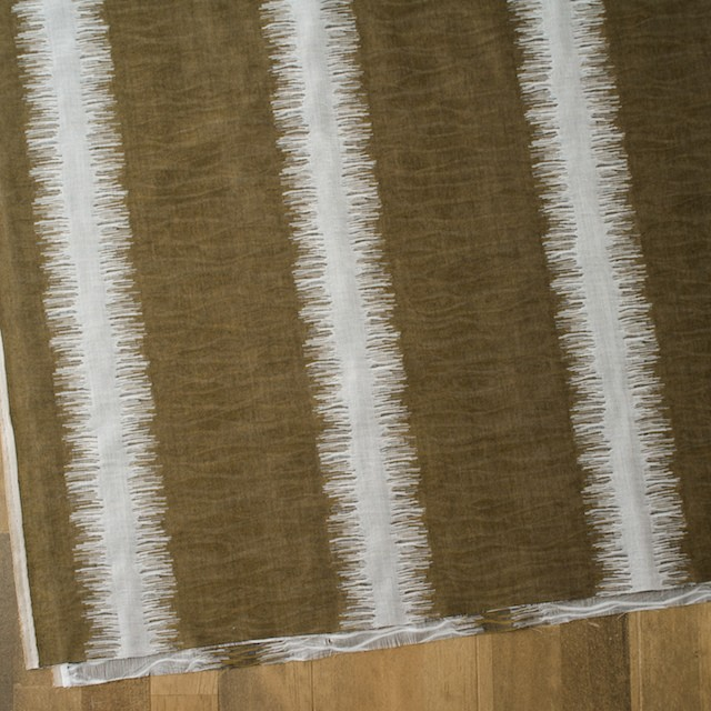 二重織ジャガードのストールキット(カーキオリーブ) イメージ4