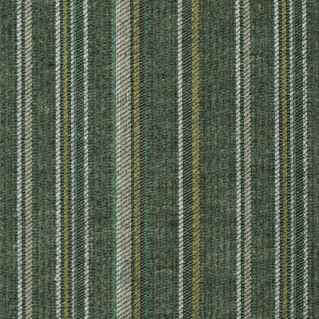 コットン×ストライプ(カーキグリーン)×中細コーデュロイ・ジャガード イメージ1