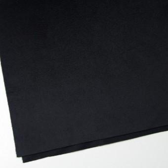 ウール&カシミア×無地(ブラック)×ビーバー サムネイル2