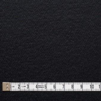ウール&カシミア×無地(ブラック)×ビーバー サムネイル4