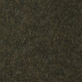 ウール&ポリエステル×無地(カーキグリーン)×圧縮ニット_イタリア製