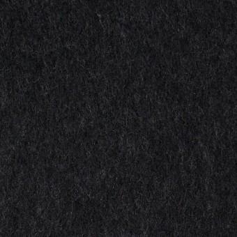 ウール×無地(チャコールブラック)×メルトン