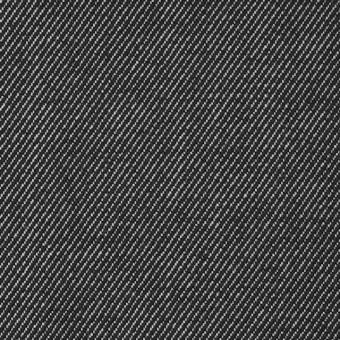 ウール&コットン混×無地(ダークネイビー)×デニムストレッチ