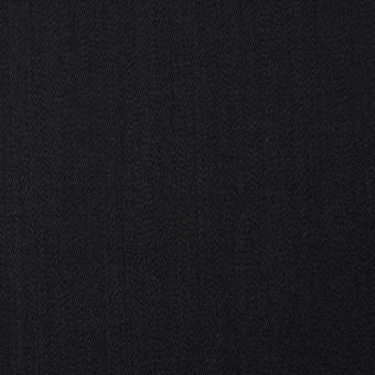 ウール×無地(ブラック)×ドスキン