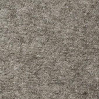 アクリル&ウール×無地(グレイッシュベージュ)×ループニット_全3色