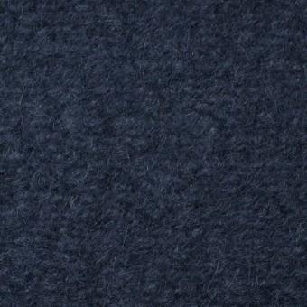 アクリル&ウール×無地(アイアンブルー)×ループニット_全3色