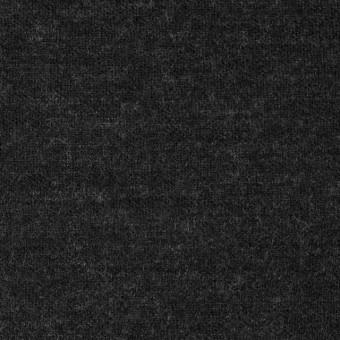 ウール×無地(チャコールグレー)×Wニット