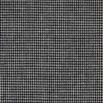 コットン×チェック(ネイビー)×千鳥格子