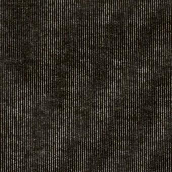 コットン&ポリウレタン×無地(ブラック)×極細コーデュロイ・ストレッチ_全2色