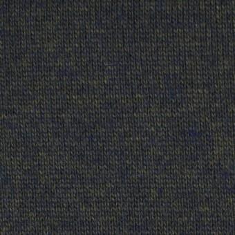 ウール&アクリル×無地(ダークモス&ネイビー)×天竺ニット_全5色