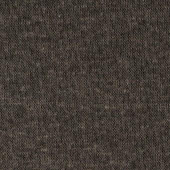 モダール&ウール×無地(カーキ)×天竺ニット_全2色
