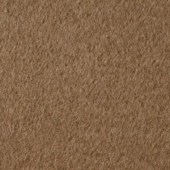ウール&ナイロン×無地(カーキベージュ)×二重織ビーバー