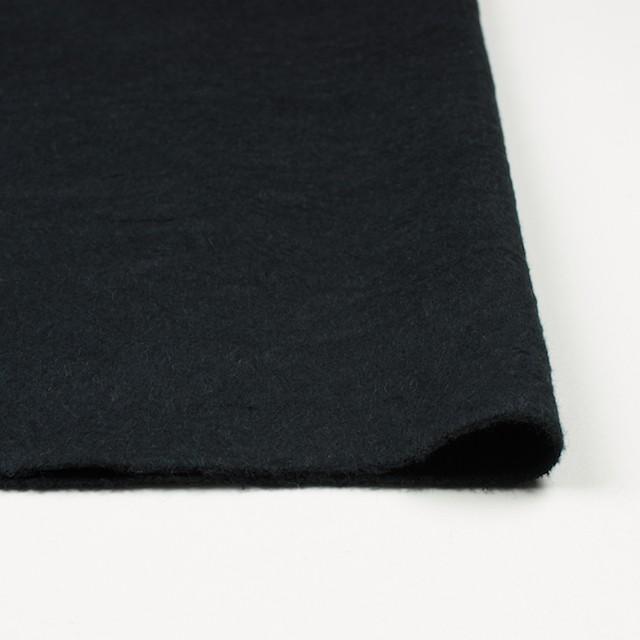 ウール×無地(ブラック)×ビーバーワッシャー イメージ3
