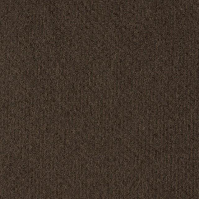 コットン×無地(カーキブラウン)×フランネル_全2色 イメージ1