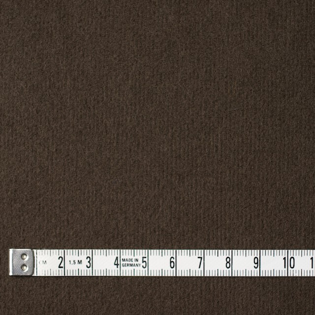 コットン×無地(カーキブラウン)×フランネル_全2色 イメージ4