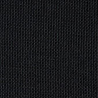 コットン×無地(ブラック)×厚オックスフォード
