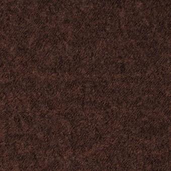 ウール×無地(ダークマホガニー)×圧縮メッシュニット_全5色