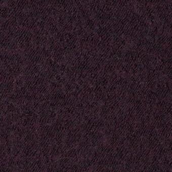 ウール×無地(ダークパープル)×圧縮メッシュニット_全5色