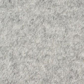 コットン×無地(ライトグレー)×パイル裏毛ニット