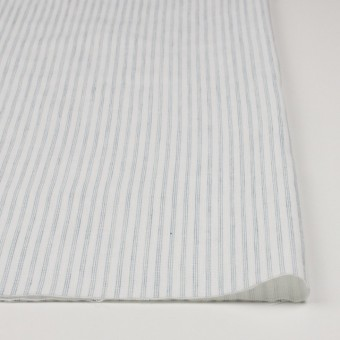 コットン×ストライプ(オフホワイト&ブルーグレー)×Wガーゼ サムネイル3