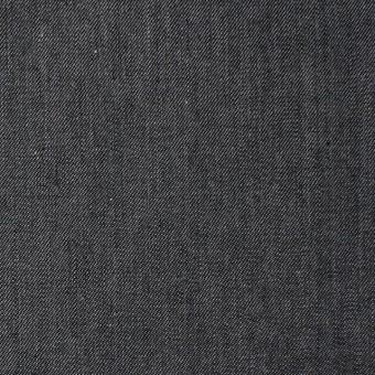 コットン×無地(ライトブラック)×薄ギャバジン サムネイル1