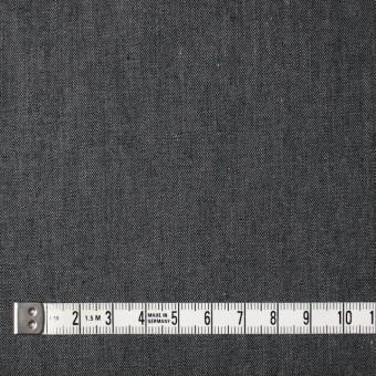 コットン×無地(ライトブラック)×薄ギャバジン サムネイル4