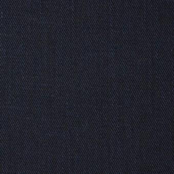 コットン×無地(ブルー&ダークネイビー)×Wフェイスチノクロス