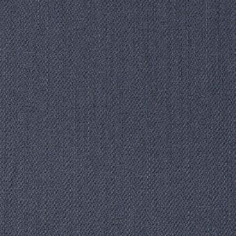 コットン&ポリウレタン×無地(スティールブルー)×チノクロス・ストレッチ_全2色