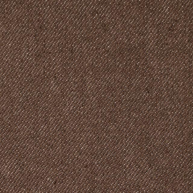 コットン×無地(ブラウン)×デニム_全5色 イメージ1