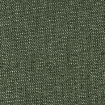 コットン×無地(フォレストグリーン)×デニム_全5色
