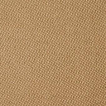 コットン&ポリウレタン×無地(ベージュ)×モールスキン・ストレッチ_全2色