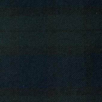 コットン×チェック(ブラックウォッチ)×ビエラ