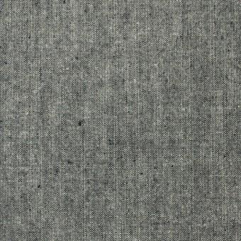 コットン×無地(モスグレー)×ダンガリー