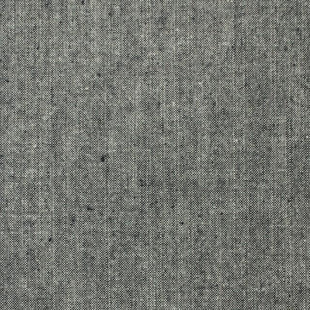 コットン×無地(モスグレー)×ダンガリー イメージ1