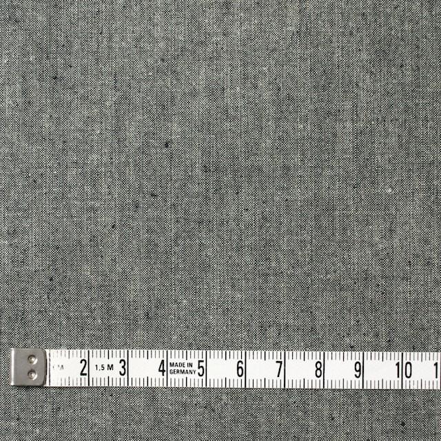 コットン×無地(モスグレー)×ダンガリー イメージ4