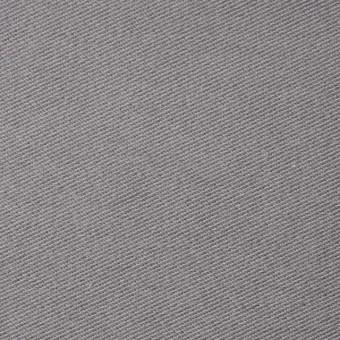 コットン&ポリエステル混×無地(グレー)×デニムライクニット_全10色