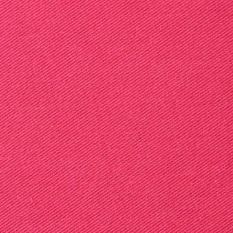 コットン&ポリエステル混×無地(ショッキングピンク)×デニムライクニット_全10色