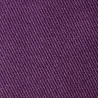 コットン&ポリエステル混×無地(パープル)×デニムライクニット_全10色
