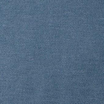 コットン&ポリエステル混×無地(ブルーグレー)×デニムライクニット_全10色
