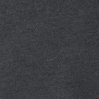 コットン&ポリエステル×無地(グーズグレー)×デニムライクニット_全10色