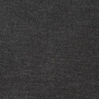 コットン&ポリエステル混×無地(チャコールグレー)×デニムライクニット_全10色