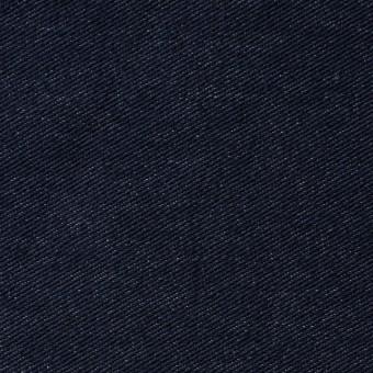 コットン&ポリエステル混×無地(ダークネイビー)×デニムライクニット_全10色